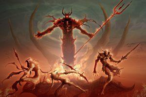 имена демонов