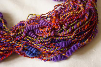 Вязание из крученой пряжи