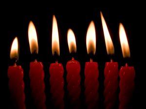 присушка на свечи