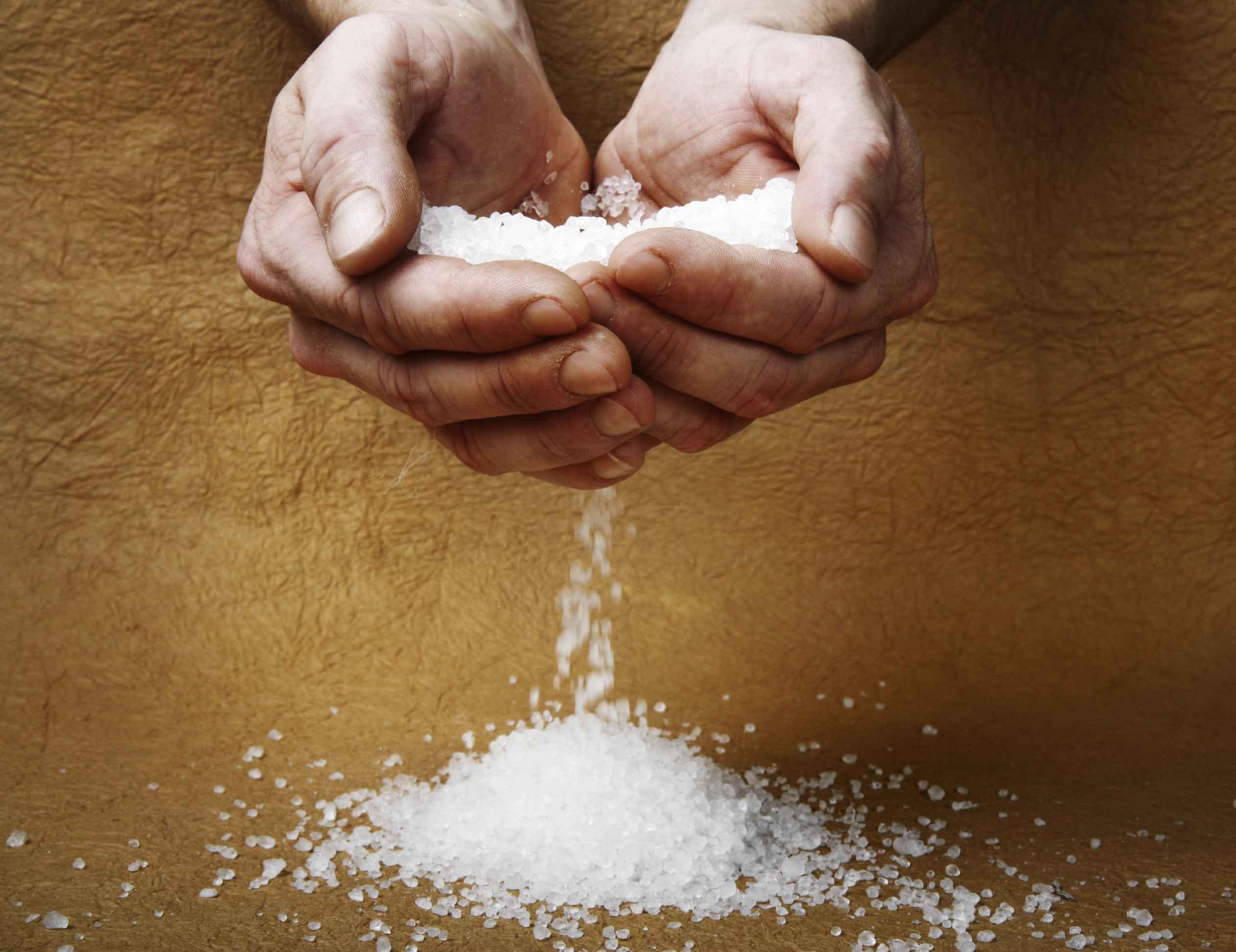 Молитвы для заговора на соль